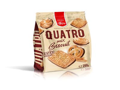 Бисквити куатро 250гр